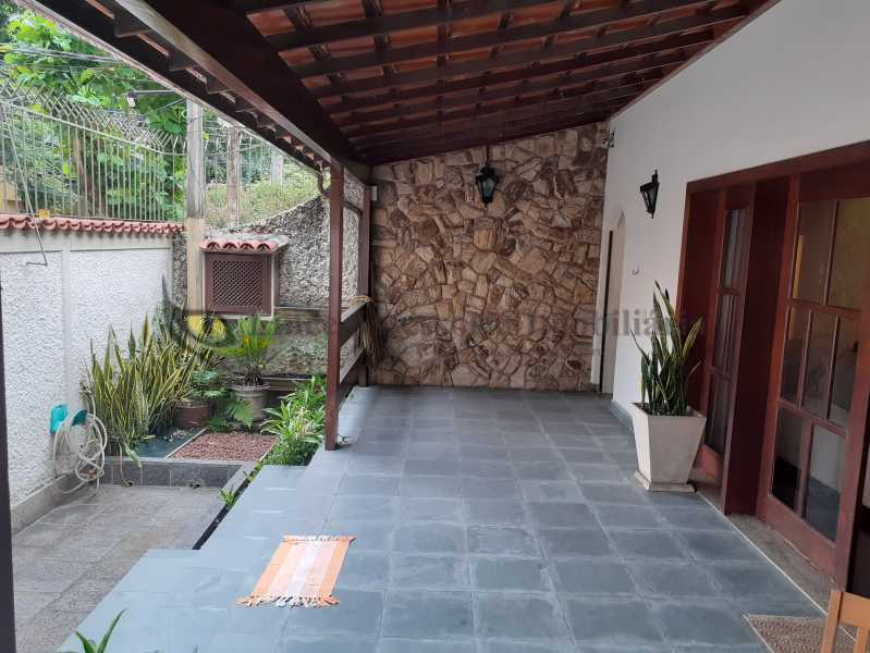 Varanda - Casa 4 quartos à venda Grajaú, Norte,Rio de Janeiro - R$ 2.500.000 - TACA40076 - 24