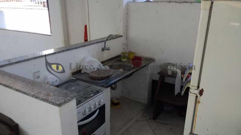 cozinha no terraço - Casa 3 quartos à venda Vila Isabel, Norte,Rio de Janeiro - R$ 850.000 - TACA30121 - 19