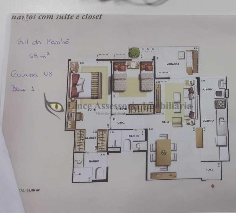 30 PLANTA - Apartamento 2 quartos à venda São Cristóvão, Norte,Rio de Janeiro - R$ 540.000 - TAAP22474 - 31