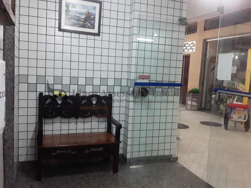 entrada principal da portaria  - Kitnet/Conjugado 18m² à venda Tijuca, Norte,Rio de Janeiro - R$ 145.000 - TAKI00093 - 7