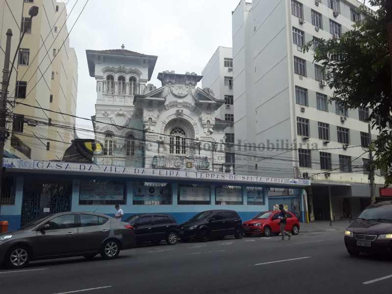 saida da galeria do predio - Kitnet/Conjugado 18m² à venda Tijuca, Norte,Rio de Janeiro - R$ 145.000 - TAKI00093 - 23