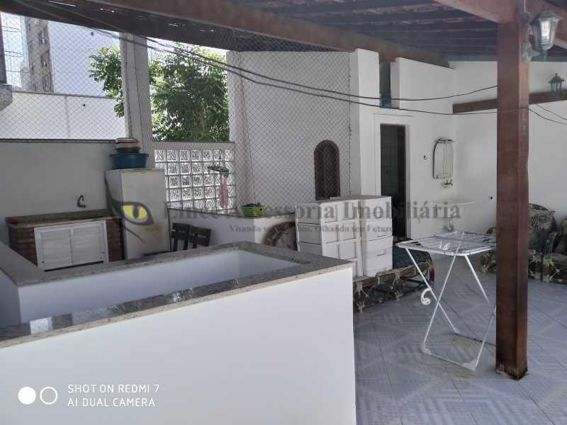 Terraço - Casa de Vila 3 quartos à venda Grajaú, Norte,Rio de Janeiro - R$ 740.000 - TACV30080 - 28