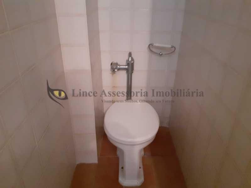 banheiro de serviço - Apartamento 2 quartos à venda Rio Comprido, Norte,Rio de Janeiro - R$ 370.000 - TAAP22491 - 21