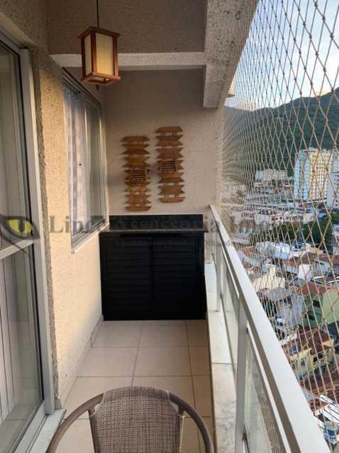 varanda  - Apartamento 2 quartos à venda Rio Comprido, Norte,Rio de Janeiro - R$ 450.000 - TAAP22493 - 7