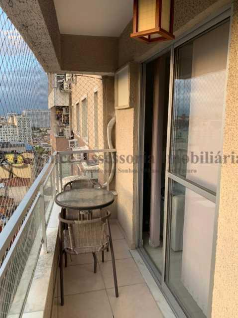 varanda - Apartamento 2 quartos à venda Rio Comprido, Norte,Rio de Janeiro - R$ 450.000 - TAAP22493 - 9
