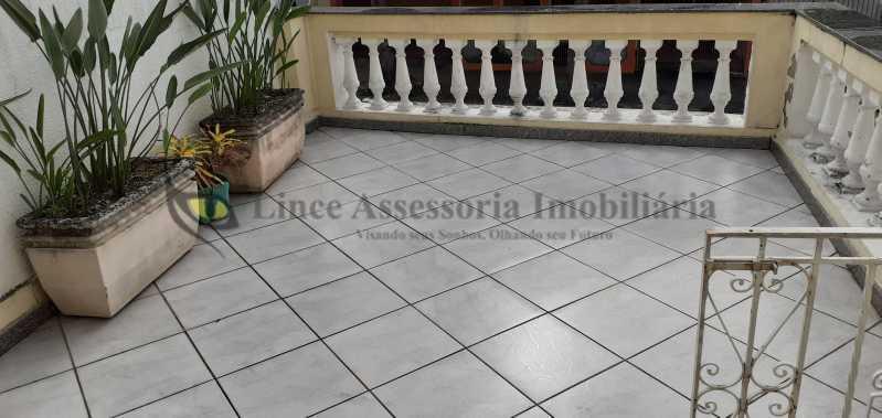 01 VARANDA ABERTA 1 - Casa 4 quartos à venda Méier, Norte,Rio de Janeiro - R$ 1.000.000 - TACA40078 - 1