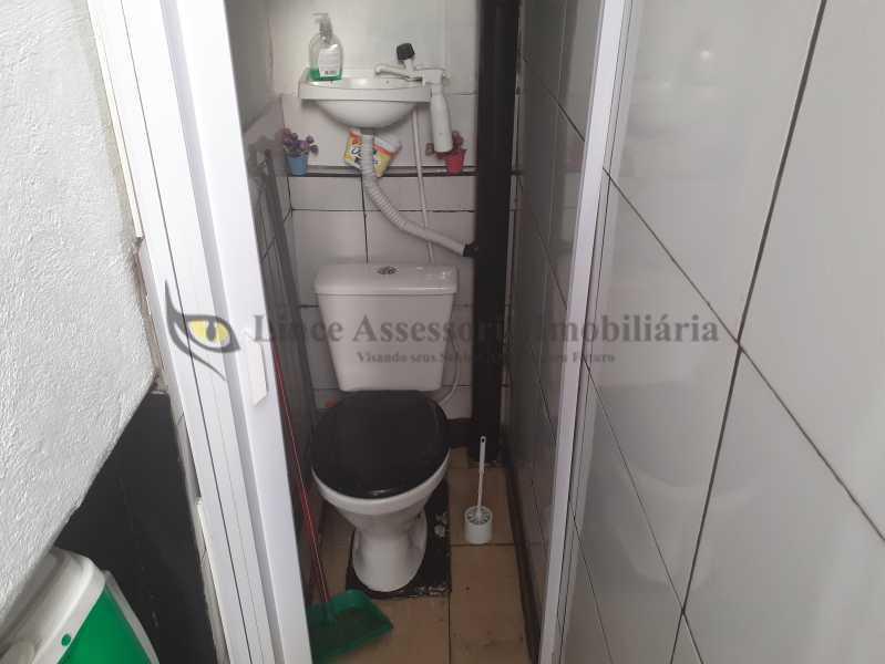 banheiro empregada - Apartamento 2 quartos à venda Rio Comprido, Norte,Rio de Janeiro - R$ 340.000 - TAAP22512 - 22