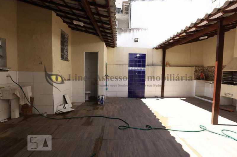 Área - Casa de Vila 4 quartos à venda Vila Isabel, Norte,Rio de Janeiro - R$ 785.000 - TACV40029 - 21