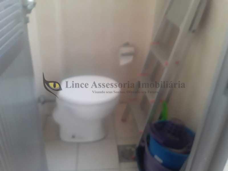 banheiro de empregada - Apartamento 2 quartos à venda Vila Isabel, Norte,Rio de Janeiro - R$ 400.000 - TAAP22520 - 27