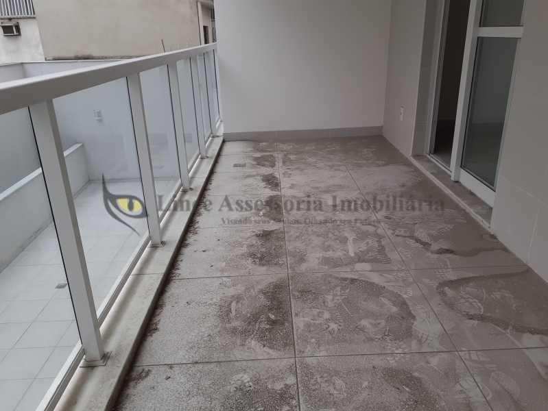varanda1.1 - Apartamento 1 quarto à venda Vila Isabel, Norte,Rio de Janeiro - R$ 430.000 - TAAP10501 - 1
