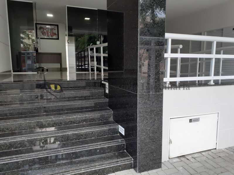 entrada do prédio - Apartamento 1 quarto à venda Vila Isabel, Norte,Rio de Janeiro - R$ 430.000 - TAAP10501 - 22