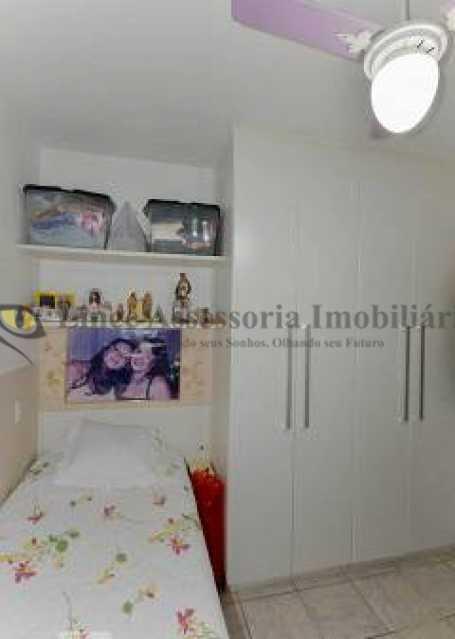 quarto revertido - Apartamento 1 quarto à venda Vila Isabel, Norte,Rio de Janeiro - R$ 270.000 - TAAP10503 - 12