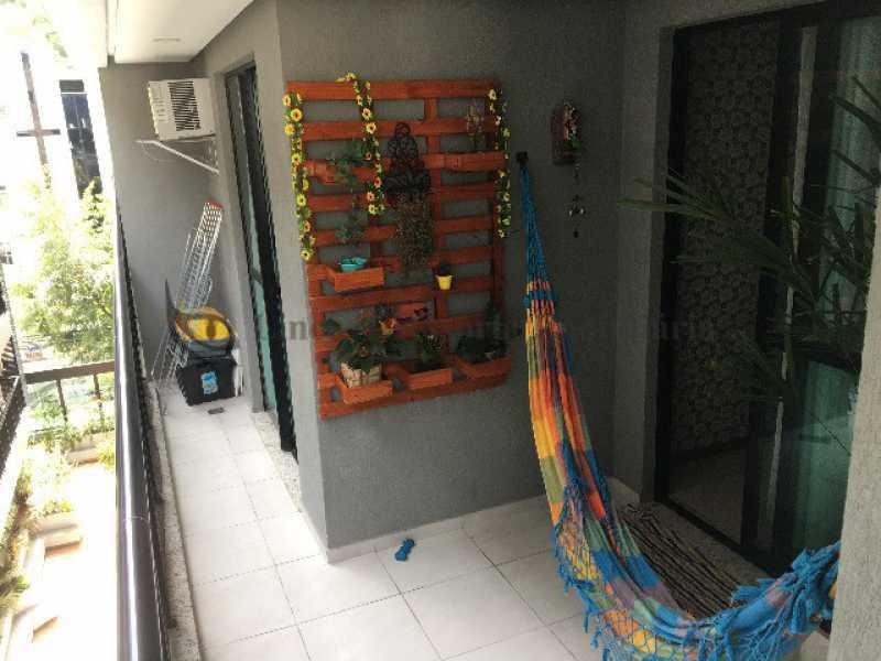 Varanda - Apartamento 2 quartos à venda Maracanã, Norte,Rio de Janeiro - R$ 485.000 - TAAP22549 - 14