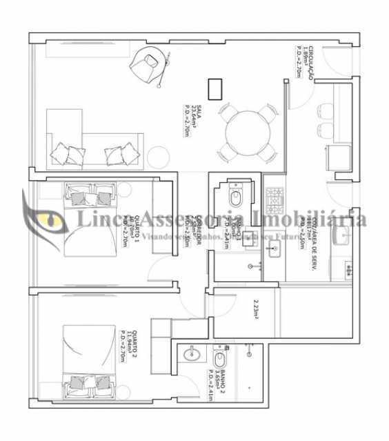 20 - Apartamento 2 quartos à venda Botafogo, Sul,Rio de Janeiro - R$ 790.000 - TAAP22557 - 21