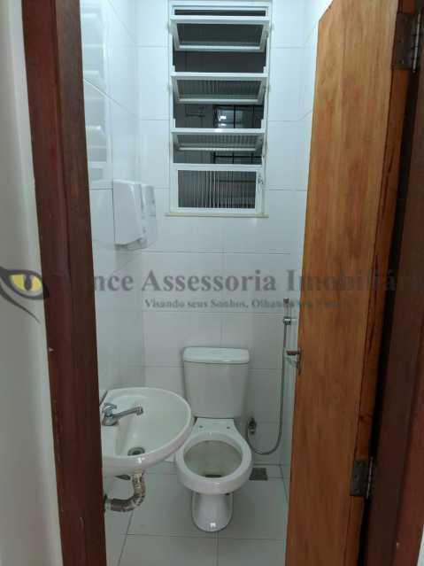 banheiro - Sala Comercial 25m² à venda Tijuca, Norte,Rio de Janeiro - R$ 230.000 - TASL00107 - 12