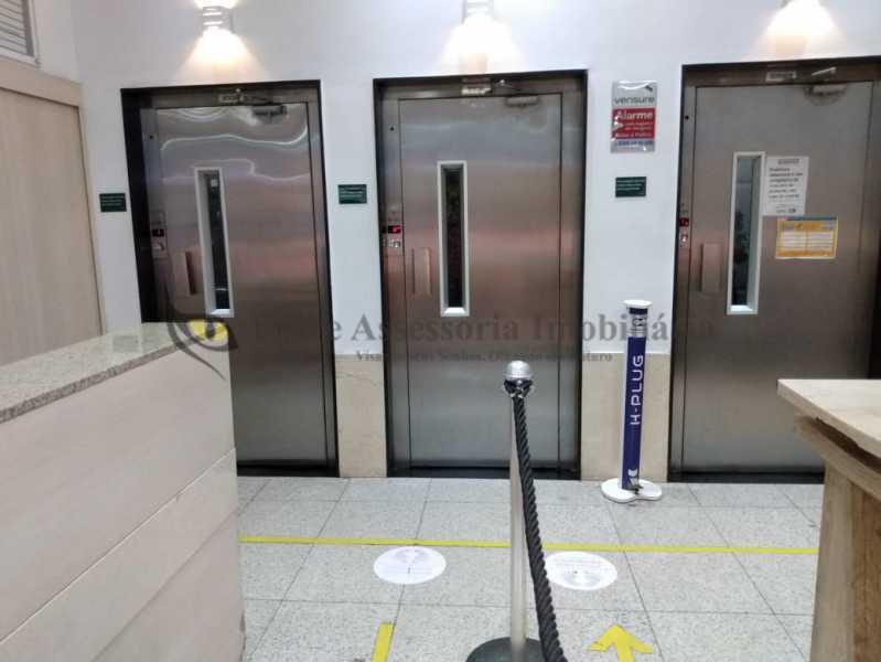 Hall dos elevadores - Sala Comercial 25m² à venda Tijuca, Norte,Rio de Janeiro - R$ 230.000 - TASL00107 - 16