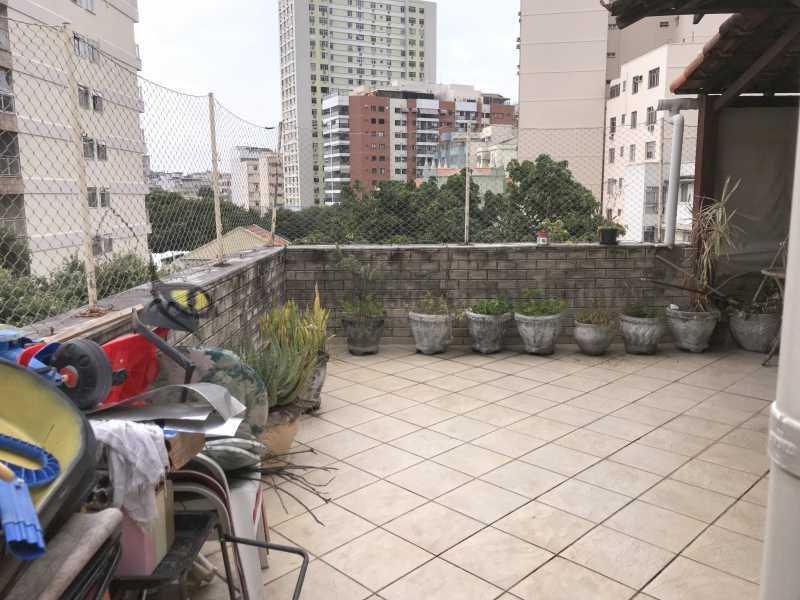 18 TERRAÇO 1 - Cobertura 3 quartos à venda Tijuca, Norte,Rio de Janeiro - R$ 1.200.000 - TACO30161 - 19