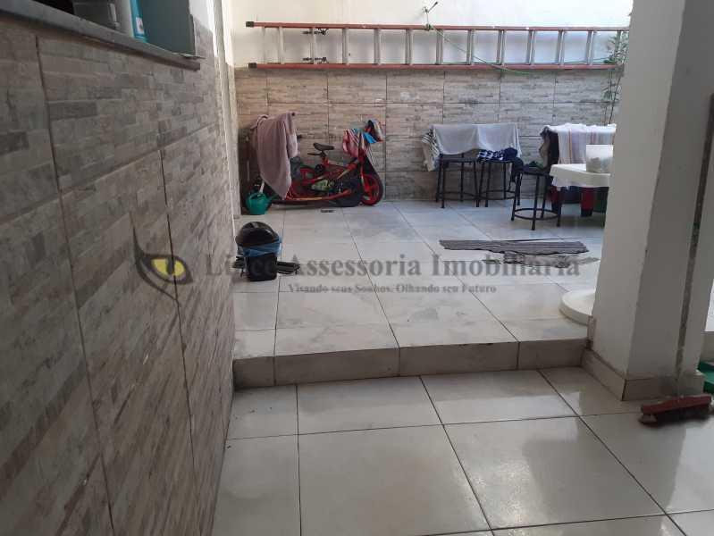 Area externa - Casa de Vila 3 quartos à venda Maracanã, Norte,Rio de Janeiro - R$ 610.000 - TACV30084 - 20