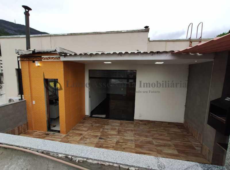 area , sala e cozinha - Cobertura 2 quartos à venda Tijuca, Norte,Rio de Janeiro - R$ 320.000 - TACO20097 - 15