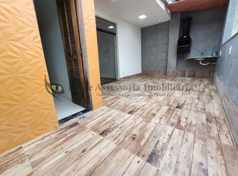 area e churrasqueira 1.2 - Cobertura 2 quartos à venda Tijuca, Norte,Rio de Janeiro - R$ 320.000 - TACO20097 - 16