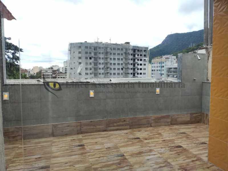 area externa 1.3 - Cobertura 2 quartos à venda Tijuca, Norte,Rio de Janeiro - R$ 320.000 - TACO20097 - 18