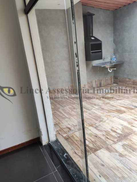 sala e churrasqueira - Cobertura 2 quartos à venda Tijuca, Norte,Rio de Janeiro - R$ 320.000 - TACO20097 - 20