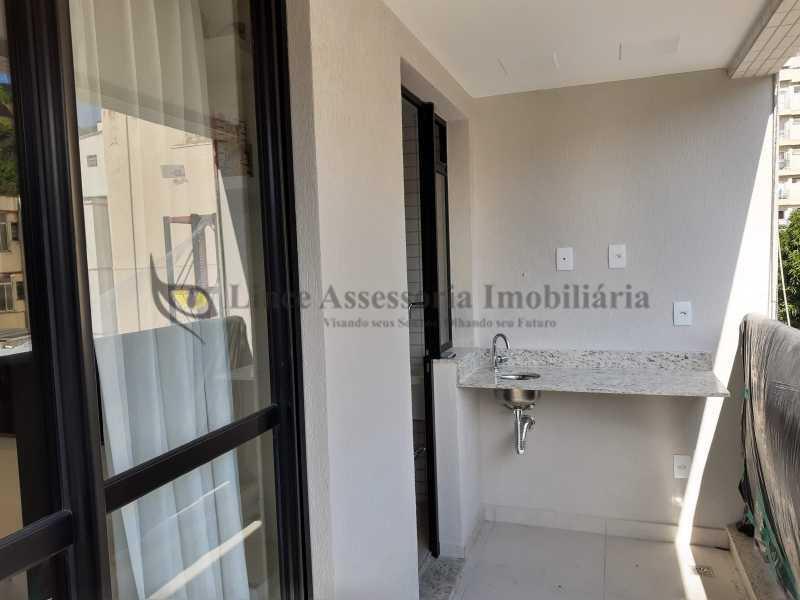 5-varanda - Cobertura 2 quartos à venda Tijuca, Norte,Rio de Janeiro - R$ 816.300 - TACO20098 - 6