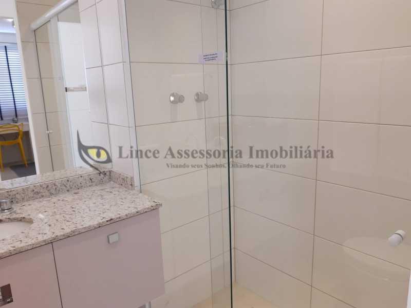 15-banheiro suíte-1 - Cobertura 2 quartos à venda Tijuca, Norte,Rio de Janeiro - R$ 816.300 - TACO20098 - 16