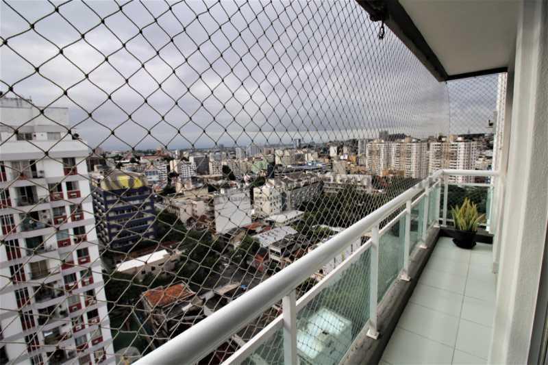 1-varanda - Apartamento 1 quarto à venda Rio Comprido, Norte,Rio de Janeiro - R$ 360.000 - TAAP10514 - 1