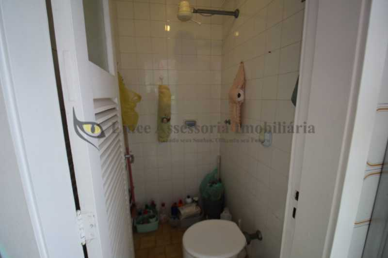 19-banheiro de serviço - Apartamento 1 quarto à venda Rio Comprido, Norte,Rio de Janeiro - R$ 360.000 - TAAP10514 - 20