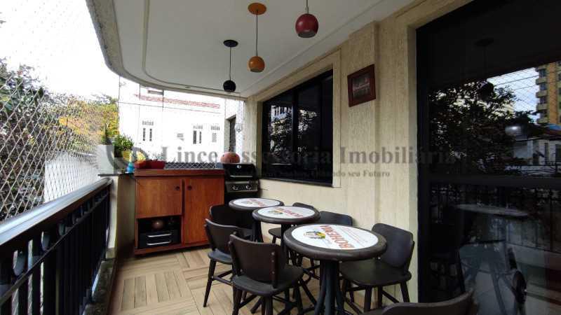 1- varanda - Apartamento 3 quartos à venda Andaraí, Norte,Rio de Janeiro - R$ 895.000 - TAAP31482 - 3
