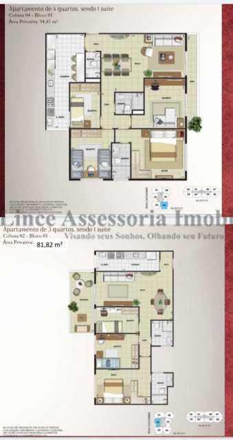 26-planta - Apartamento 3 quartos à venda Cachambi, Norte,Rio de Janeiro - R$ 621.600 - TAAP31508 - 27