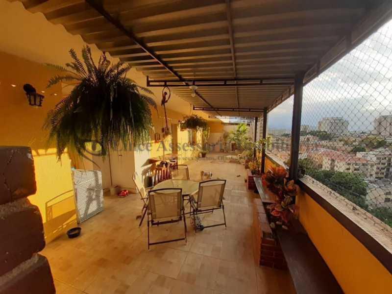 terraço.. - Cobertura 3 quartos à venda Cachambi, Norte,Rio de Janeiro - R$ 490.000 - TACO30165 - 18
