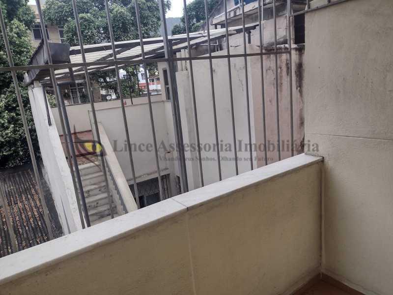 varanda . - Apartamento 1 quarto à venda Maracanã, Norte,Rio de Janeiro - R$ 270.000 - TAAP10522 - 6