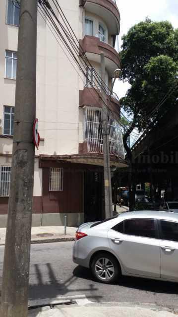 lateral do prédio - Kitnet/Conjugado 20m² à venda Rio Comprido, Norte,Rio de Janeiro - R$ 125.000 - TAKI00097 - 18
