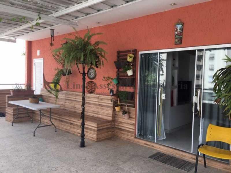 terraço - Cobertura 3 quartos à venda Rio Comprido, Norte,Rio de Janeiro - R$ 660.000 - TACO30008 - 18