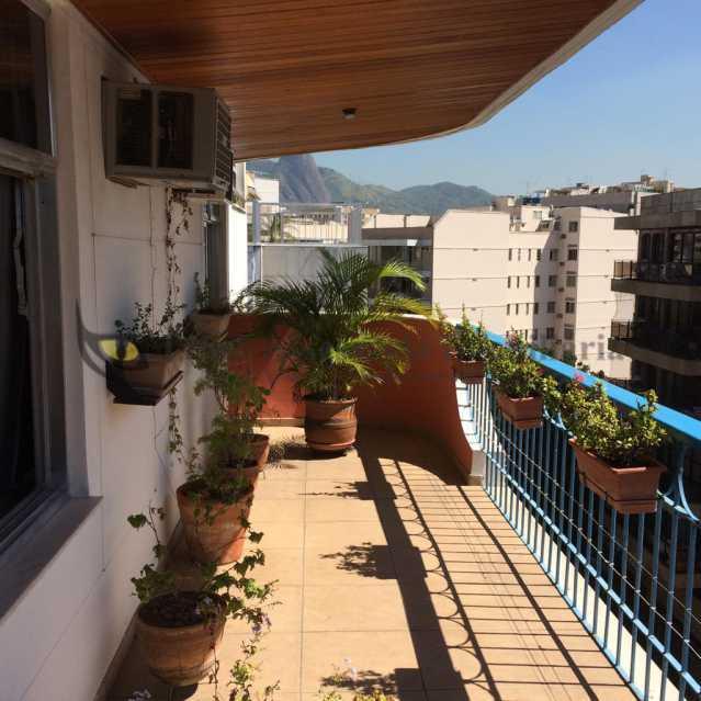 Varanda - Cobertura 4 quartos à venda Tijuca, Norte,Rio de Janeiro - R$ 1.550.000 - PACO40014 - 1