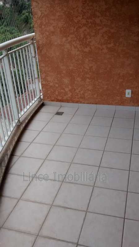 Varanda - Apartamento 3 quartos à venda Tijuca, Norte,Rio de Janeiro - R$ 750.000 - PAAP30284 - 6