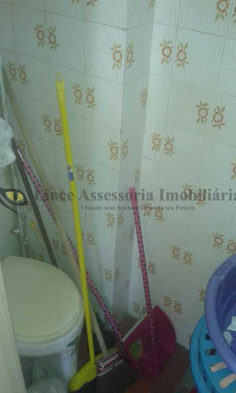 banheiro de empregada - Apartamento 2 quartos à venda Vila Isabel, Norte,Rio de Janeiro - R$ 195.000 - TAAP20695 - 19