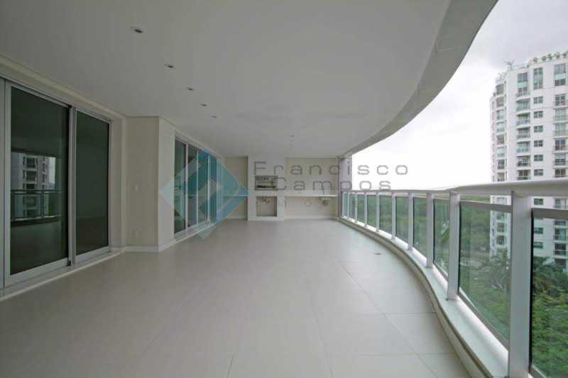 01_Varanda - Apartamento Península font vieille - barra da Tijuca - MEAP40018 - 1