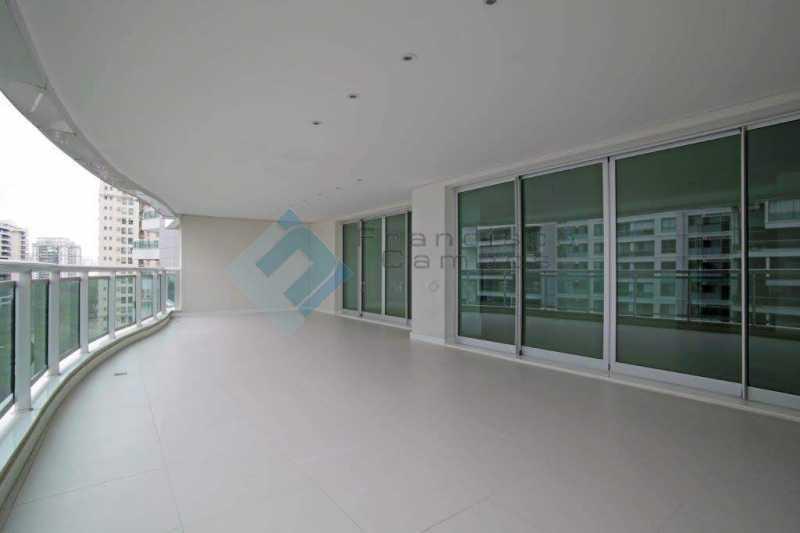 02_Varanda - Apartamento Península font vieille - barra da Tijuca - MEAP40018 - 3