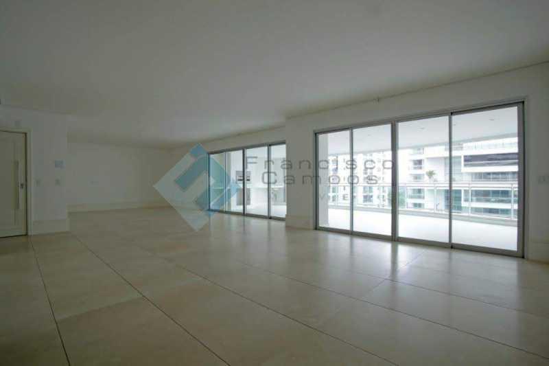 03_Sala - Apartamento Península font vieille - barra da Tijuca - MEAP40018 - 4