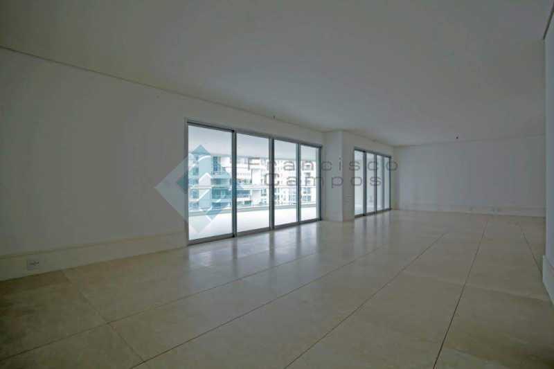 04_Sala - Apartamento Península font vieille - barra da Tijuca - MEAP40018 - 5