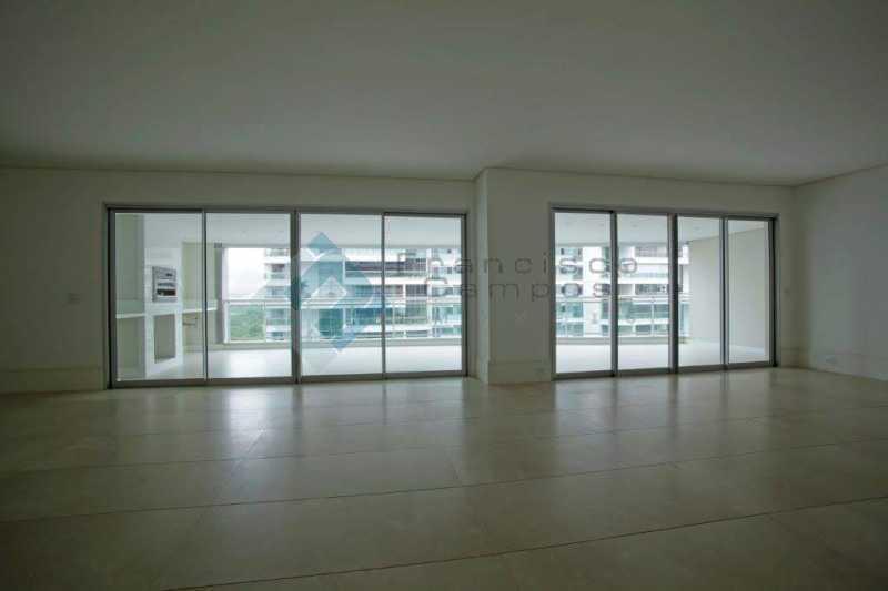 05_Sala - Apartamento Península font vieille - barra da Tijuca - MEAP40018 - 6