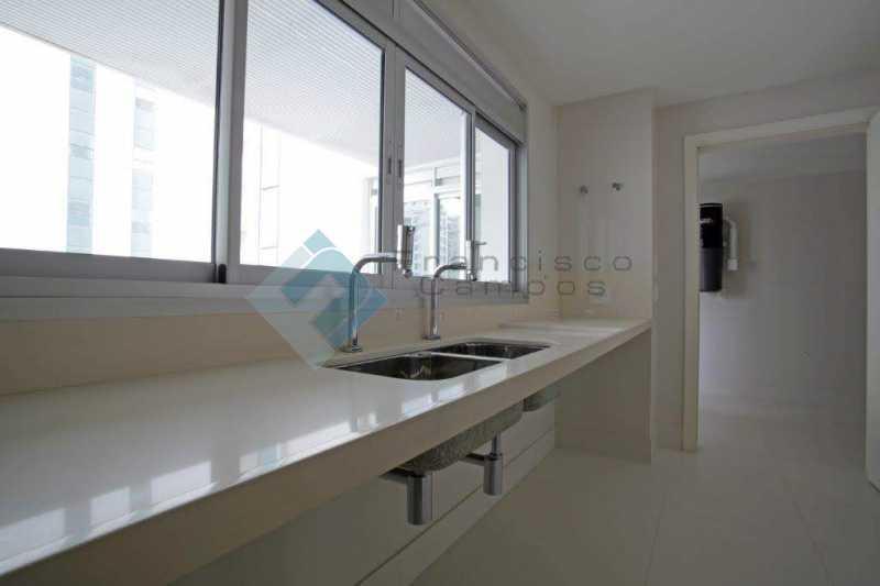 20_Cozinha - Apartamento Península font vieille - barra da Tijuca - MEAP40018 - 21