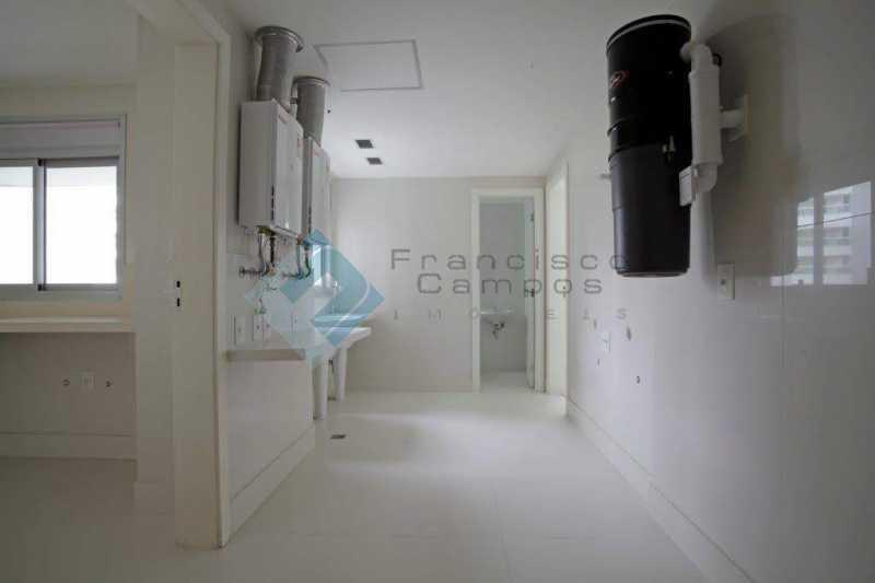 21_Servic?o - Apartamento Península font vieille - barra da Tijuca - MEAP40018 - 22