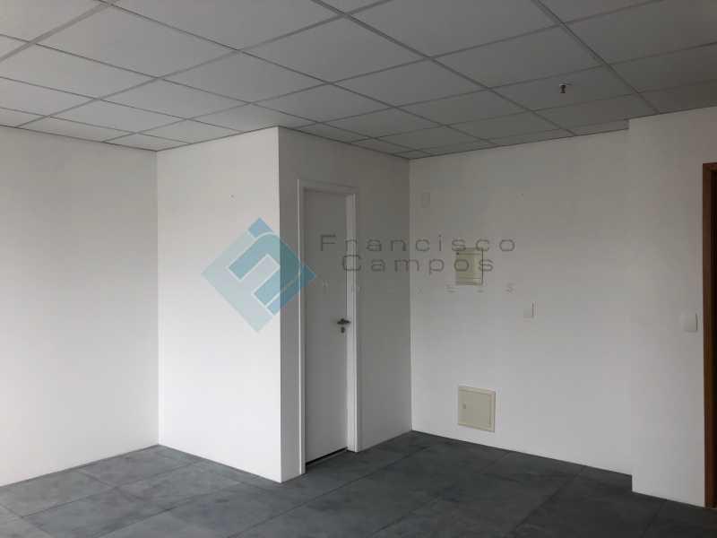 Vista da Sala Sl 404 - Neolink-sala comercial , Barra da Tijuca-RJ - MESL00014 - 4