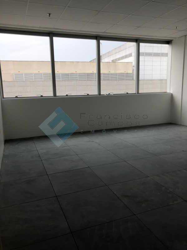 Vista Janela Sala sla 404 - Neolink-sala comercial , Barra da Tijuca-RJ - MESL00014 - 3