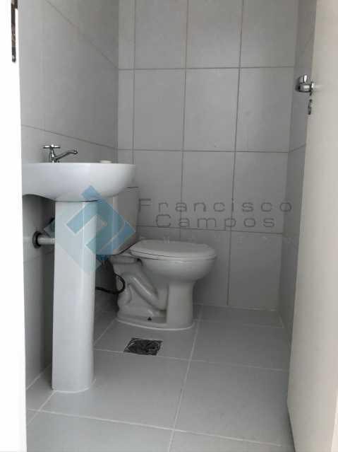 Banheiro Sala. - Barra da Tijuca, sala Comercial junto ao condomínio Ilha Pura - MESL00015 - 4