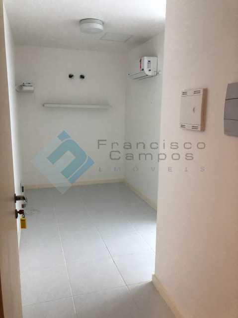 Entrada Sala Recepção Ar Spr - Barra da Tijuca, sala Comercial junto ao condomínio Ilha Pura - MESL00015 - 3